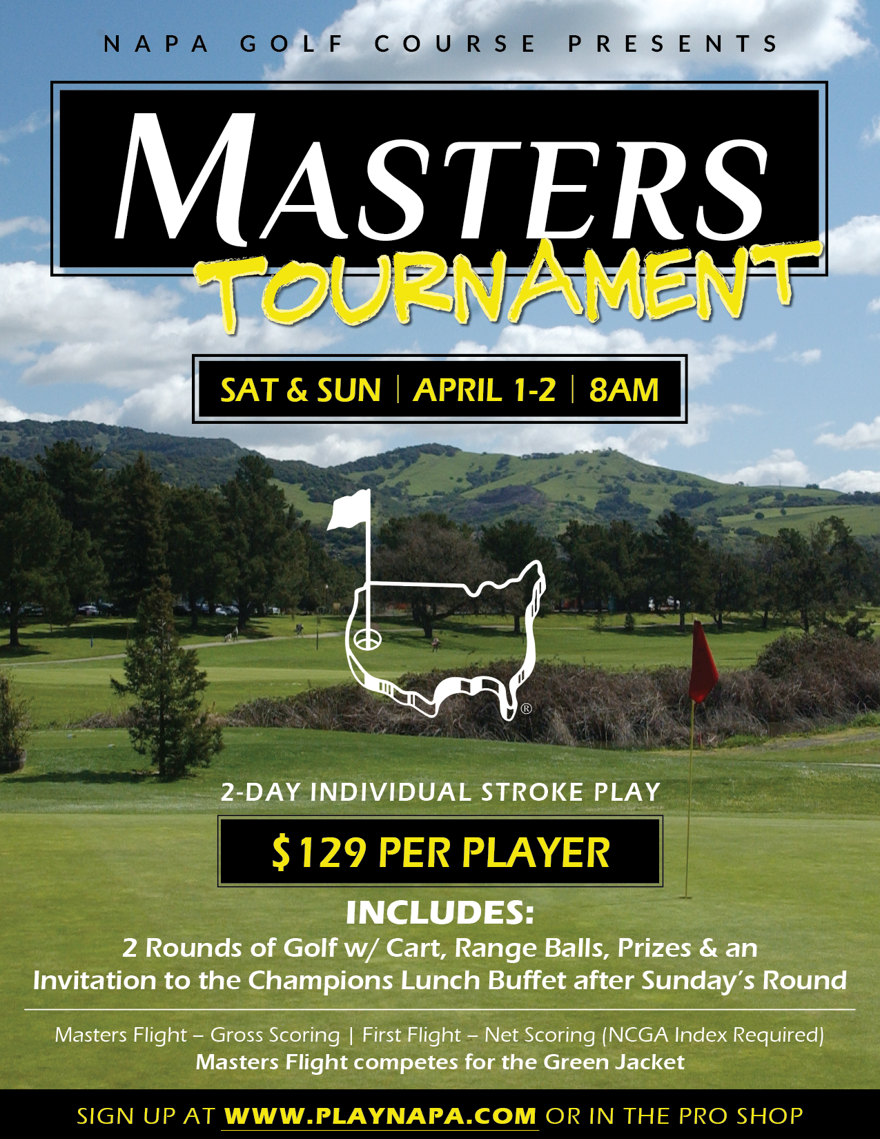 Masters Tournament Flyer V1 01